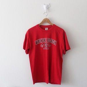 💕 Waikiki Beach 05 Hawaii Short Sleeve Shirt